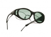 Cocoons OveRx Stream Line S Sunglasses Black