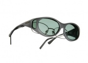 Cocoons OveRx Stream Line S Sunglasses Slate