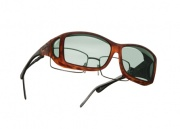 Cocoons OveRx Wide Line ML Sunglasses Tortoise