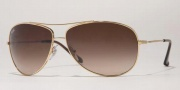 Ray-Ban RB3293 Sunglasses Sunglasses - 004/13 Gunmetal / Brown Gradient