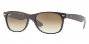 Ray-Ban RB2132 Sunglasses New Wayfarer  Sunglasses - 874/51 Top Brown on Blue / Crystal Brown Gradient