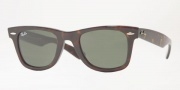 Ray-Ban RB2132 Sunglasses New Wayfarer  Sunglasses - 902 Tortoise / Crystal Green