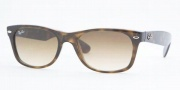 Ray-Ban RB2132 Sunglasses New Wayfarer  Sunglasses - 710/51 Light Havana / Crystal Brown Gradient