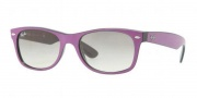Ray-Ban RB2132 Sunglasses New Wayfarer  Sunglasses - 873/32 Top Cyclamen on Black / Crystal Gray Gradient