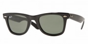 Ray-Ban RB2140 Sunglasses Original Wayfarer Sunglasses - 887/96 Matte Blue / Crystal Sky Blue
