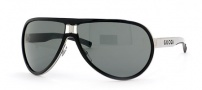 Gucci 1566 Sunglasses - Black-ruthenium/Gray (REE95)