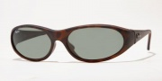 Ray-Ban 2015 (Daddy-O Oval Wrap) Sunglasses Sunglasses - (W2582)Tortoise w/ B-15XLT