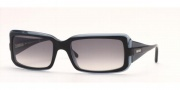 Vogue 2443 Sunglasses - Gray-faded/Black-light-blue (11438G)