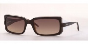 Vogue 2443 Sunglasses - Brown-faded/Brown-caramel-white (144113)