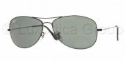 Ray-Ban RB3362 Sunglasses Cockpit Sunglasses - 014/74 Dark Brown Crystal / Brown Orange Gradient