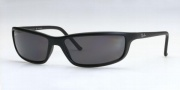 Ray-Ban RB4034 Sunglasses Polarized Predator 18  Sunglasses - (601S81) Matte Black/Polarized Gray Lenses