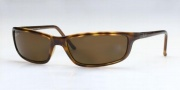 Ray-Ban RB4034 Sunglasses Polarized Predator 18  Sunglasses - (642/83) Havana/Polarized Brown Lenses (Discontinued color NLA)