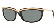 Ray-Ban RB4109 Sunglasses Olympian I  Sunglasses - (710) Light Havana/Crystal Gray-Green