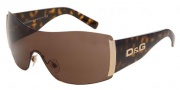 D&G DD 8039 Sunglasses - (502/73) Havana/Brown