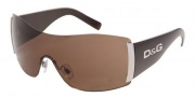D&G DD 8039 Sunglasses - (525/73) Wood Brown/Brown
