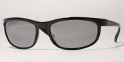 Ray-Ban RB2027 Sunglasses Predator 2 Polarized  Sunglasses - (601/82)Black / Gray Mirror Silver Polarized