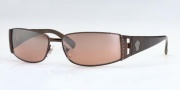 Versace VE2021 Sunglasses Sunglasses - 1006/6U Dark Brown/Brown Mirror Silver Gradient Lenses