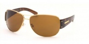 Prada PR 52GS Sunglasses Sunglasses - Gold /Brown (72I2Z1)