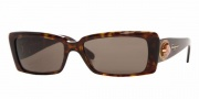 Salvatore Ferragamo/ FE 2134B Sunglasses - (102-3) Dark Havana/Brown