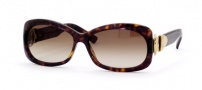 Gucci 2983/S Sunglasses - 0086 (CC) DARK HAVANA (BROWN GRADIENT) 