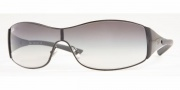 Ray-Ban RB 3268 Sunglasses Shield Sunglasses - (002-8G) Black/Gray Gradient