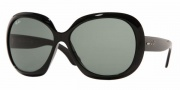 Ray-Ban RB4098 Sunglasses Jackie Ohh II Sunglasses - (601-71) Black/Green