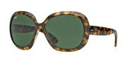 Ray-Ban RB4098 Sunglasses Jackie Ohh II Sunglasses - (710-71) Light Havana/Green