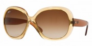 Ray-Ban RB4098 Sunglasses Jackie Ohh II Sunglasses - (719-13) Light Brown/Brown Gradient