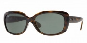 Ray-Ban RB4101 Sunglasses Jackie Ohh Sunglasses - (710) Light Havanah/Crystal Green