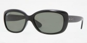 Ray-Ban RB4101 Sunglasses Jackie Ohh Sunglasses - (710-41) Light Havana/ Crystal Brown Photo