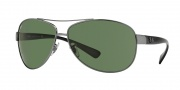 Ray-Ban RB3386 Sunglasses Sunglasses - (004-71) Gunmetal/Green
