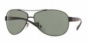 Ray-Ban RB3386 Sunglasses Sunglasses - (006-71) Matte Black/Green