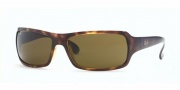 Ray-Ban RB4075 Sunglasses Sunglasses - (601S) Matte Black/Crystal Green