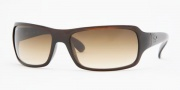 Ray-Ban RB4075 Sunglasses Sunglasses - (642-31) Havana/Crystal Green