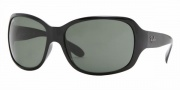 Ray-Ban RB4118 Sunglasses Sunglasses - (601) Black/Crystal Green