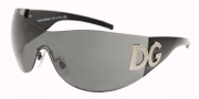 Dolce & Gabbana/ DG 6036B Sunglasses - (501-8G) Black/Gray