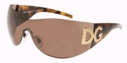 Dolce & Gabbana/ DG 6036B Sunglasses - (502-73) Havana/Brown (Discontinued Color NLA)