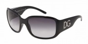 Dolce & Gabbana/ DG 6041 Sunglasses - (501-31) Shiny Black/Crystal Green