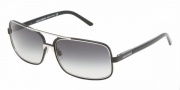 Dolce & Gabbana/ DG 2048 Sunglasses Sunglasses - (047-8G) Black/Gray Gradient