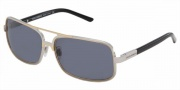 Dolce & Gabbana/ DG 2048 Sunglasses Sunglasses - (265-87) Silver with Part./Gold/Gray