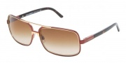 Dolce & Gabbana/ DG 2048 Sunglasses Sunglasses - (305-13) Brown-Gold/Brown Gradient