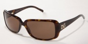 Dolce & Gabbana/ DG 4013B Sunglasses - (502-73) Havana/Brown