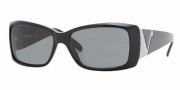 Vogue 2560 Sunglasses - (W44-87) Black/Gray