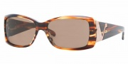 Vogue 2560 Sunglasses - (162773) Striped Brown/Brown