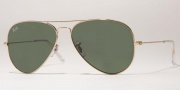 Ray-Ban RB3025 Sunglasses Large Metal 58 Size Sunglasses - W3277
