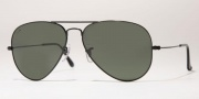 Ray-Ban RB3025 Sunglasses Large Metal 58 Size Sunglasses - L0205 Arista / Crystal Green