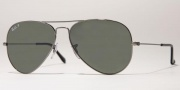 Ray-Ban RB3025 Sunglasses Large Metal 58 Size Sunglasses - 032/32 White Metal / Crystal Gray Gradient