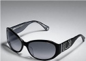 Coach Alberta S845  Sunglasses - 040 Black / Gray Gradient