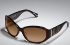 Coach Alberta S845  Sunglasses - 215 Tortoise / Brown