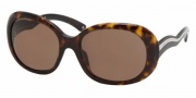 Prada PR 08LS Sunglasses Sunglasses - (2AU8C1) Havana/Brown